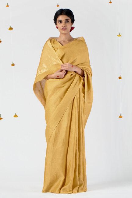 Anavila Festive jacquard sari