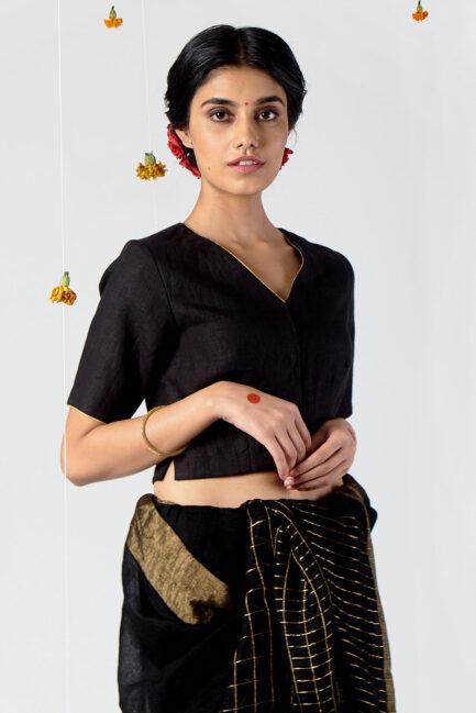 Anavila V-neck blouse
