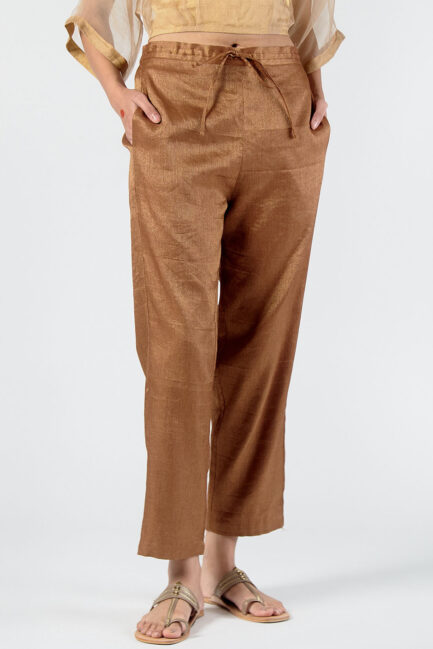 Anavila Metallic trouser