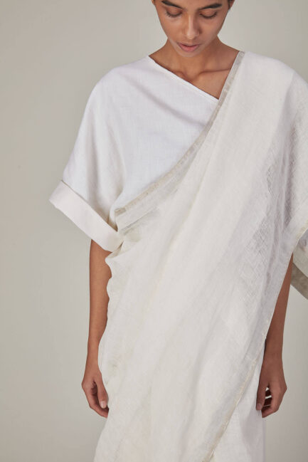 Anavila Linen Sari