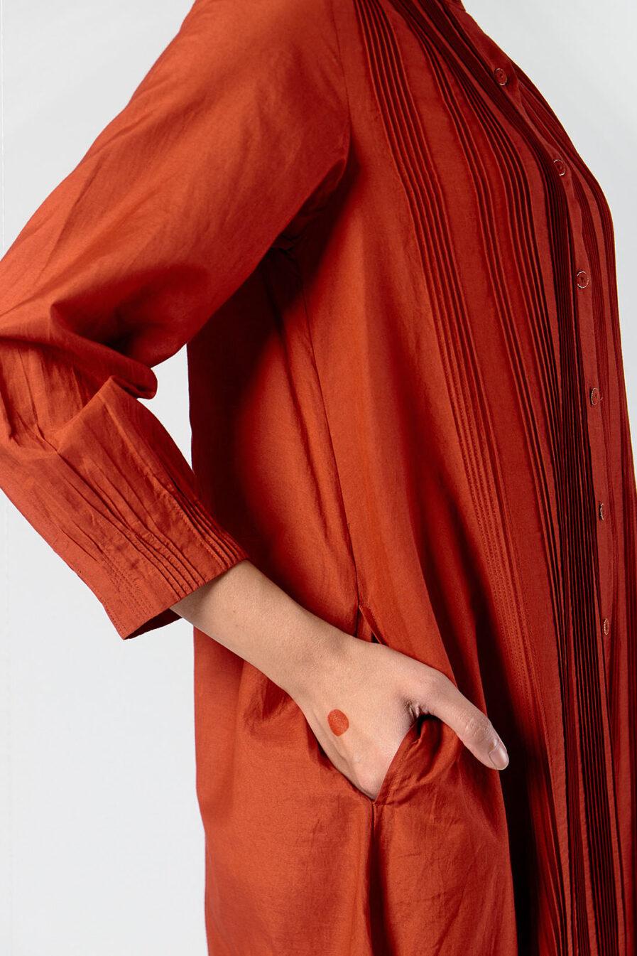 Anavila Pleated dress