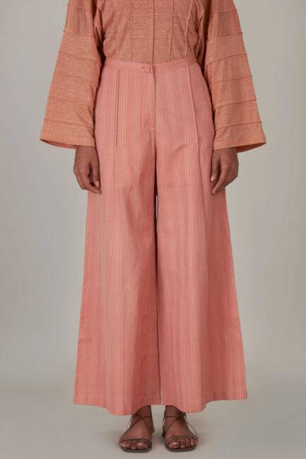 Anavila Peach Organic Trouser
