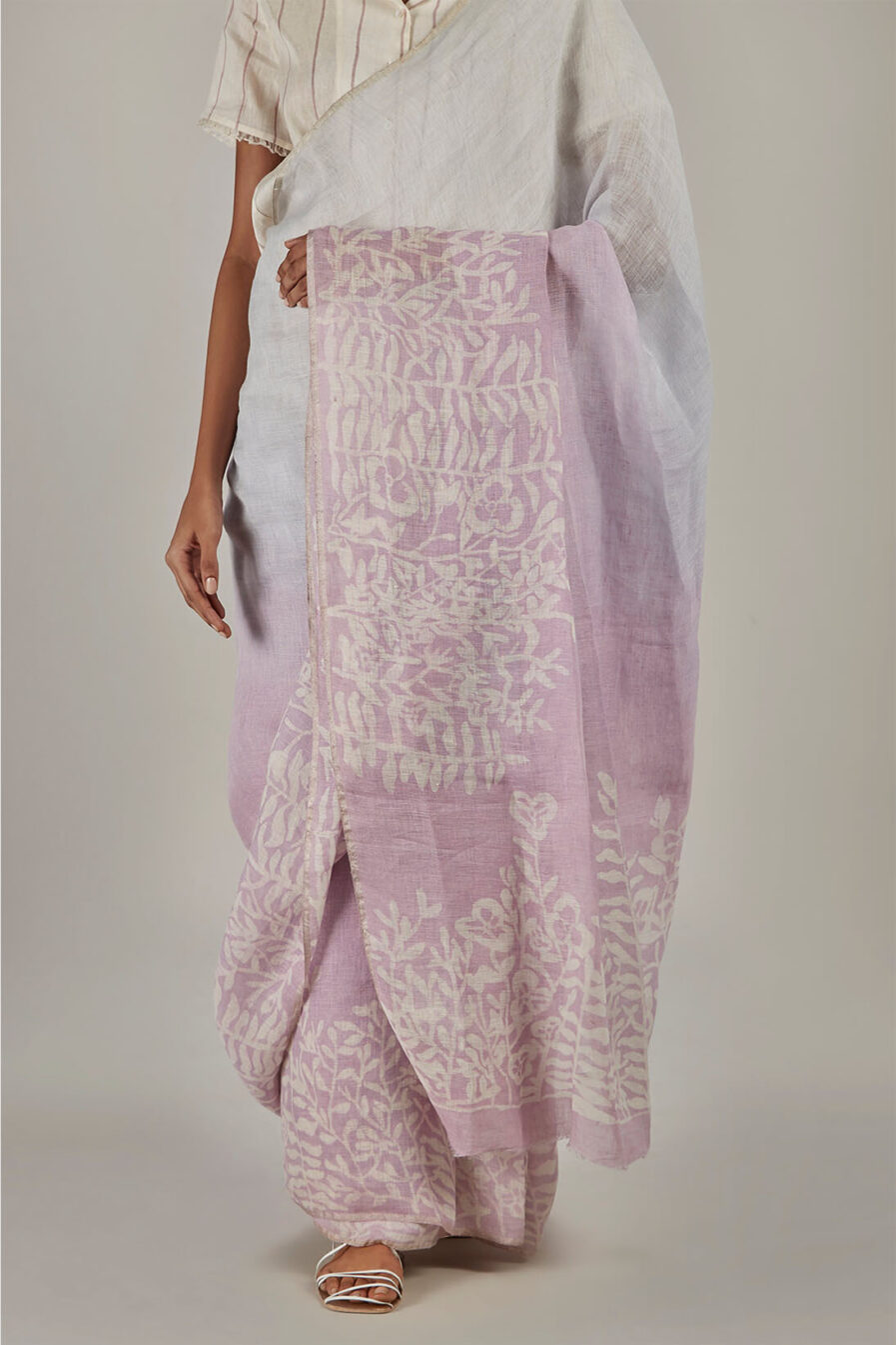 Anavil Ombre batik sari