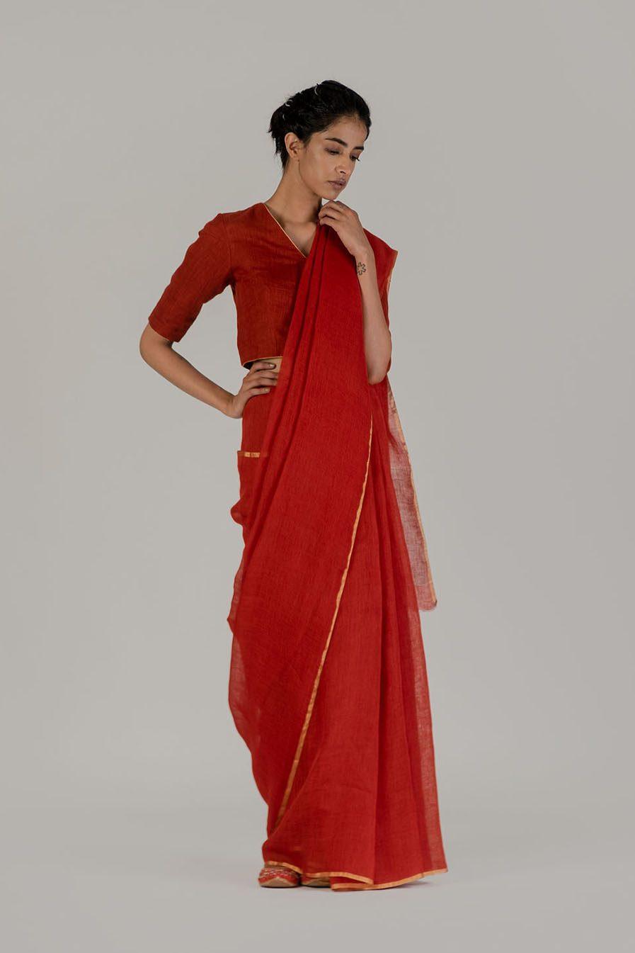 Anavil Festive sari