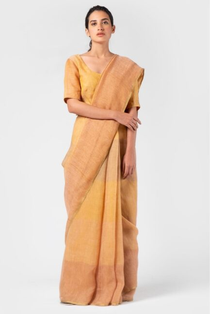 Anavila Graded amber summer sari